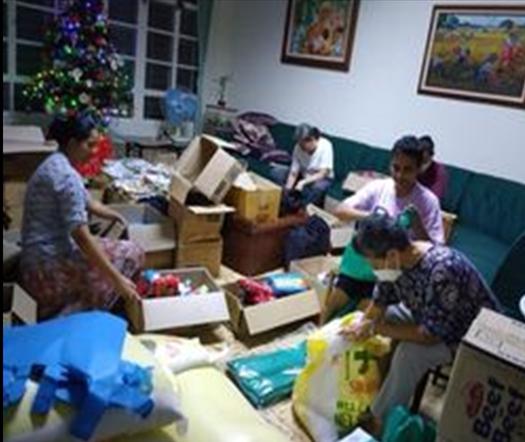 Relief for Manila