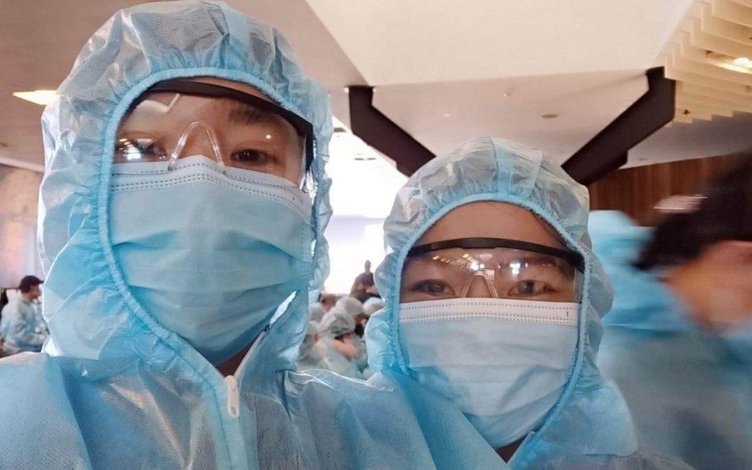 Vietnamese Students Return Home